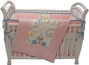 I hope my baby have her/his own crib. Looks a little like this, but bigger.