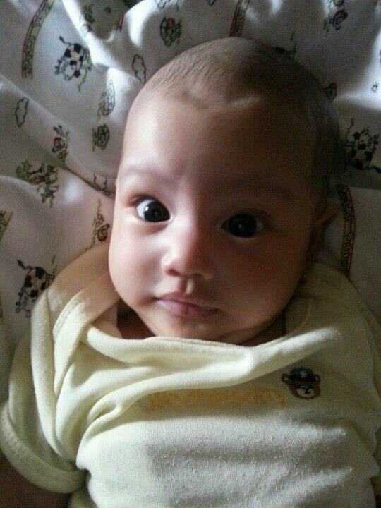 Talia Sabriyya Ihsan, born on March 12, 2013. W: 3,1 kg H: 48 cm