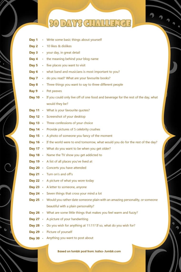 30 days challenge-1